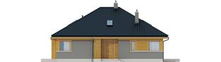 Projekt domu Flo - elewacja frontowa