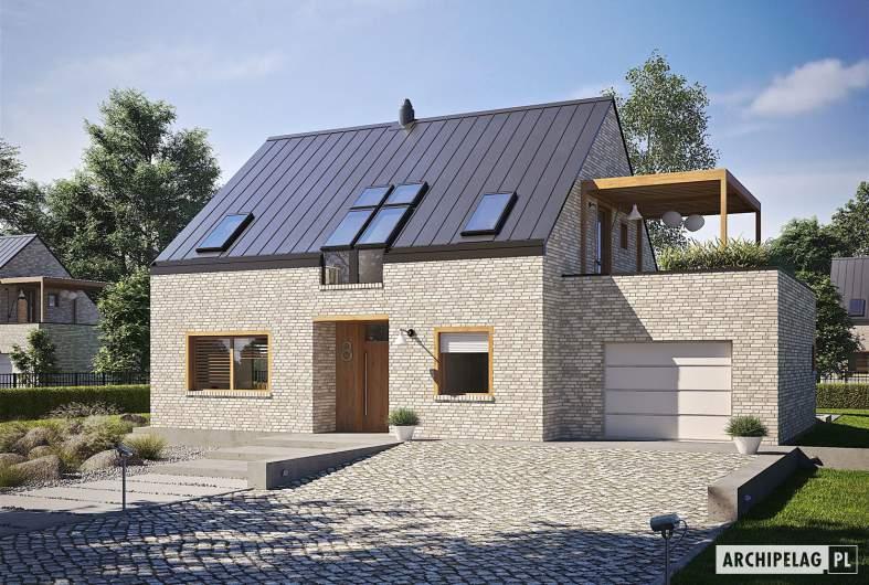 Projekt domu Katrina II G1 ENERGO PLUS - wizualizacja frontowa