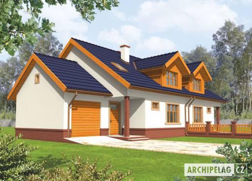 Projekt rodinného domu - Melka