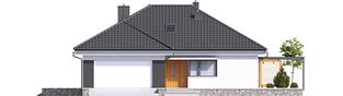 Projekt domu Astrid (mała) G2 - elewacja frontowa