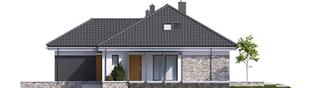 Projekt domu Astrid (mała) G2 - elewacja prawa