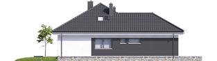 Projekt domu Astrid (mała) G2 - elewacja lewa