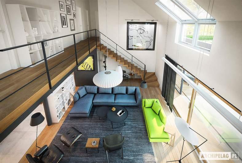 Projekt domu EX 18 G2 ENERGO PLUS - wizualizacja wnętrza