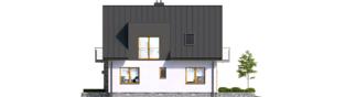 Projekt domu Andreas - elewacja prawa