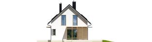 Projekt domu Lea (wersja A) - elewacja prawa