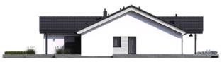 Projekt domu Simon III G2 ENERGO PLUS - elewacja prawa