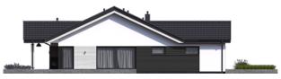Projekt domu Simon III G2 ENERGO PLUS - elewacja lewa