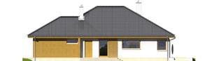 Projekt domu Glen II G1 MULTI-COMFORT - elewacja prawa