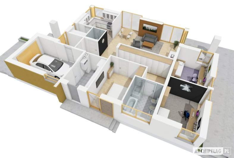 Projekt domu Glen II G1 MULTI-COMFORT -