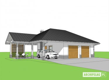 Projekt: Garaż G25 w. IV