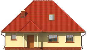Edma - Projekt domu Edytka - elewacja frontowa