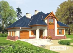 Projekt domu Nastazja G1 - animacja projektu