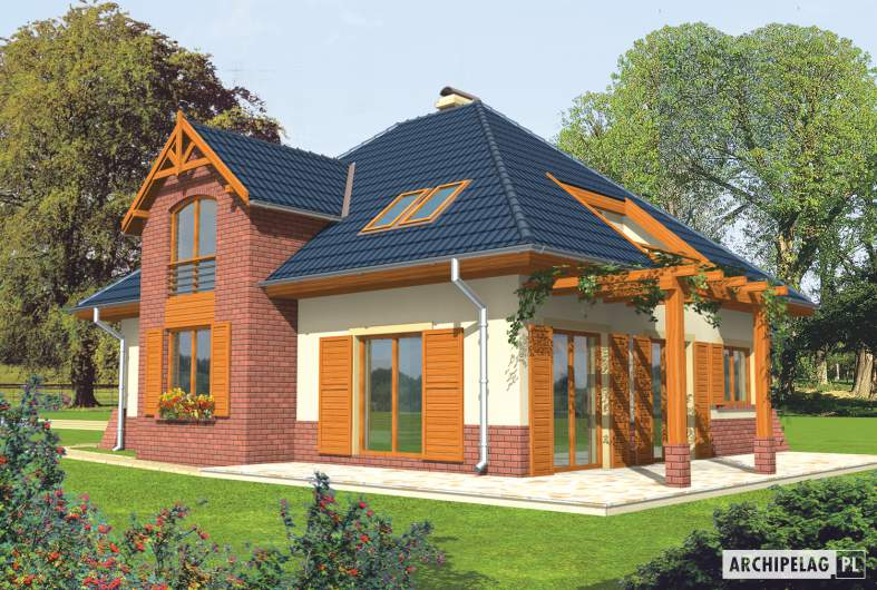 Projekt domu Nastazja G1 -
