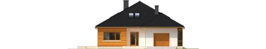 Liv 3 G1 - Projekt domu Liv 3 G1 - elewacja frontowa