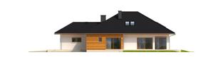 Projekt domu Liv 3 G1 - elewacja prawa