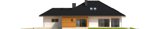 Liv 3 G1 - Projekt domu Liv 3 G1 - elewacja prawa
