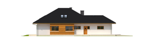 Projekt domu Liv 3 G1 - elewacja lewa