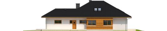 Liv 3 G1 - Projekt domu Liv 3 G1 - elewacja lewa