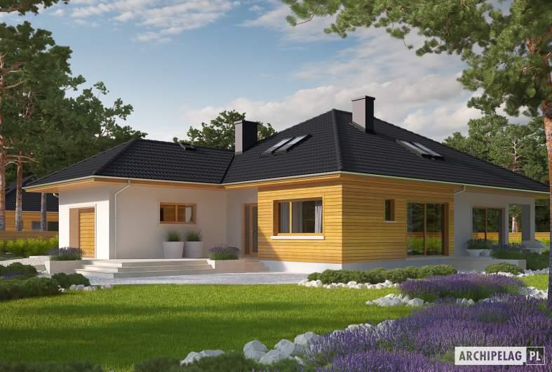 Projekt domu Liv 3 G1 - wizualizacja frontowa
