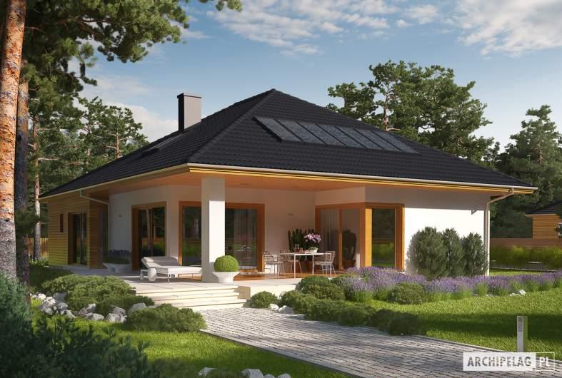 Projekt domu Liv 3 G1 - wizualizacja ogrodowa