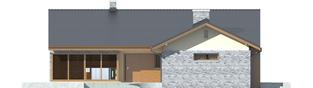 Projekt domu Alberta G1 - elewacja frontowa
