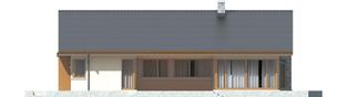 Projekt domu Alberta G1 - elewacja tylna