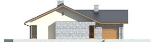 Projekt domu Alberta G1 - elewacja lewa