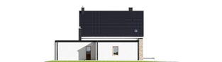 Projekt domu Tymon G1 - elewacja lewa