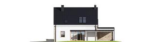 Projekt domu Tymon G1 - elewacja prawa