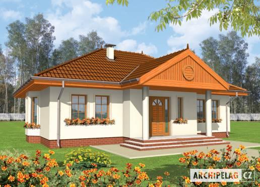 Projekt rodinného domu - Dolores