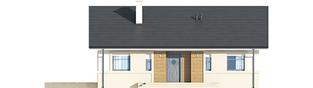 Projekt domu Kornel IV ENERGO - elewacja frontowa