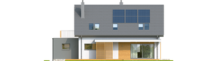 Projekt domu Logan G1 - elewacja tylna