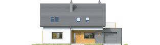 Projekt domu Logan G1 - elewacja frontowa