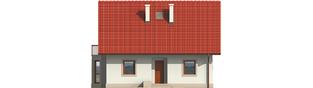 Projekt domu Irenka - elewacja frontowa