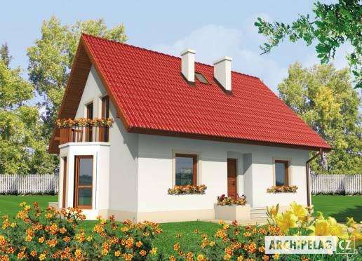 Projekt rodinného domu - Irenka
