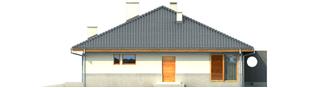 Projekt domu Florenc II G1 - elewacja prawa