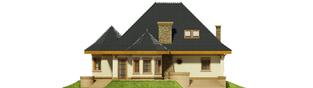 Projekt domu Tulipan G2 - elewacja tylna