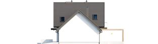 Projekt domu Mini 8 w. II G1 - elewacja prawa