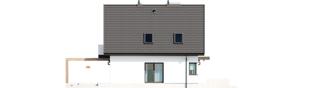 Projekt domu Mini 8 w. II G1 - elewacja lewa