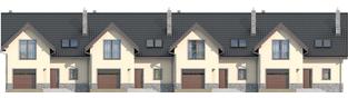 Projekt domu Simba G1 - elewacja frontowa