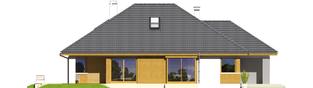 Projekt domu Glen III G2 - elewacja lewa