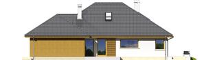 Projekt domu Glen III G2 - elewacja prawa