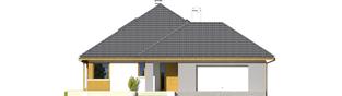 Projekt domu Glen III G2 - elewacja frontowa
