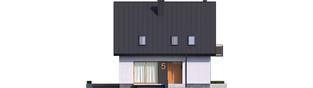 Projekt domu Mini 5 - elewacja frontowa