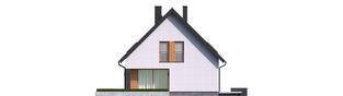 Projekt domu Mini 5 - elewacja lewa