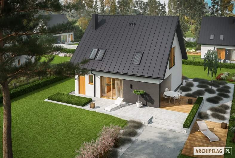 Projekt domu Mini 5 - widok z góry