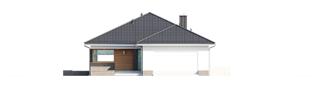 Projekt domu Alison G2 - elewacja frontowa