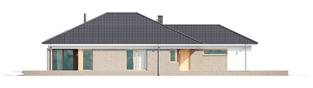 Projekt domu Alison G2 - elewacja lewa