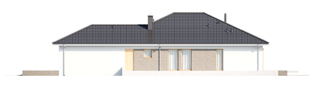 Projekt domu Alison G2 - elewacja prawa