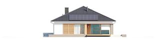 Projekt domu Alison G2 - elewacja tylna